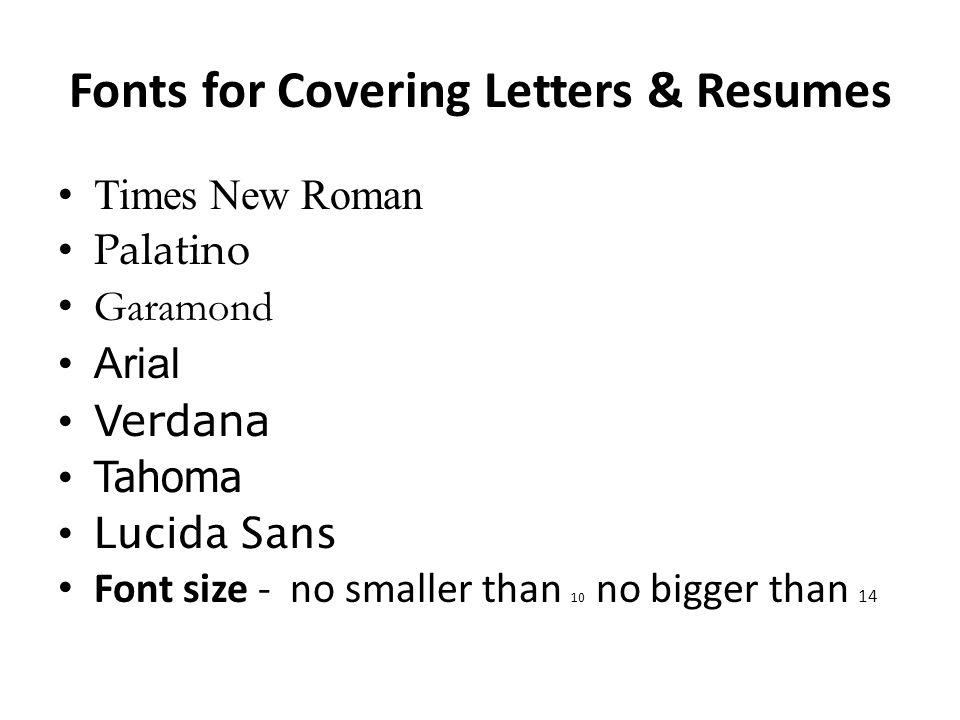 writing covering letters ppt