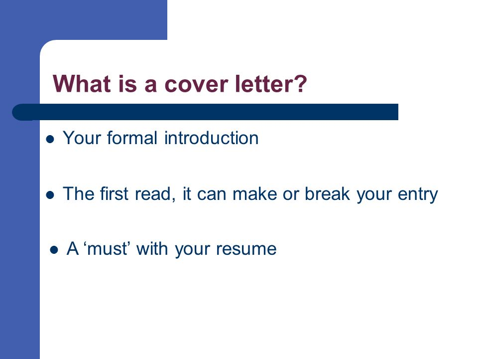 Cover letters selling your skills on paper ppt video for What is the best way to address a cover letter