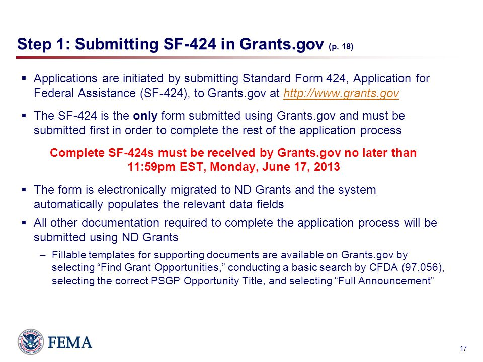 FY 2013 Port Security Grant Program (PSGP) Funding Opportunity ...