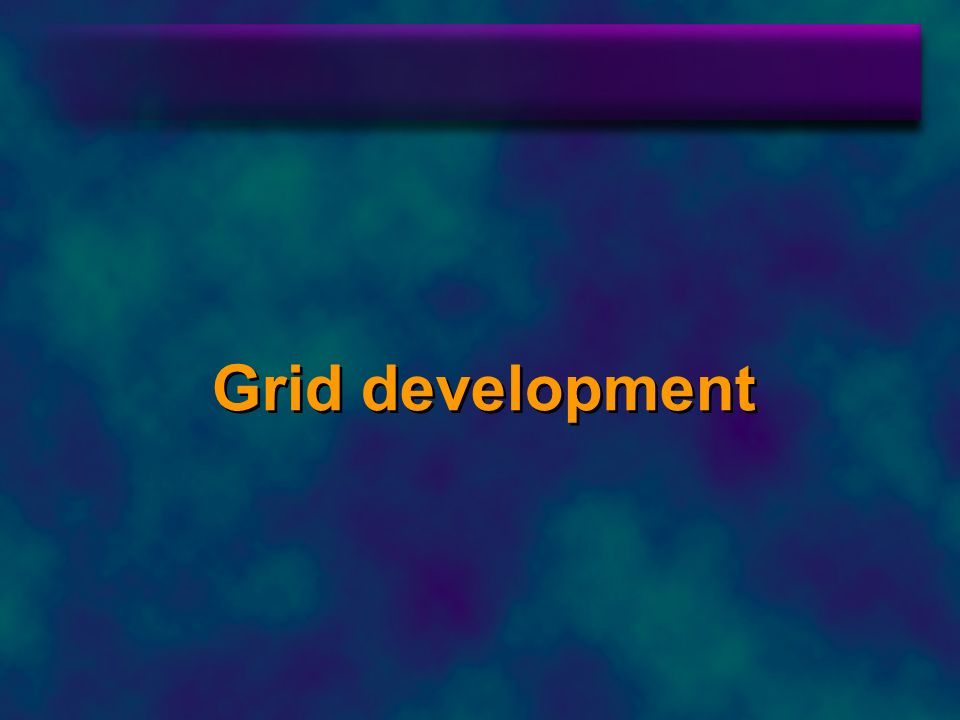 Grid development