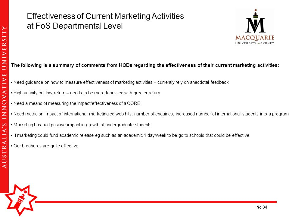 exploring current marketing activities How do you enter a new market  processes also need to be defined and communicated for all activities such  i will utilize some of these points in the current.