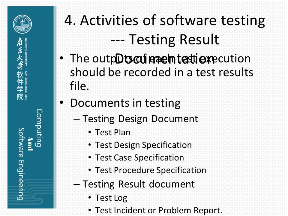 Computing And Se Ii Chapter 12: Software Testing - Ppt Download
