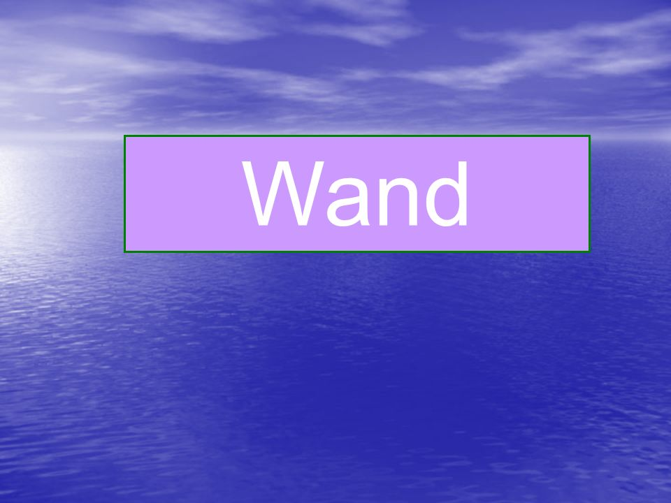 Wand wall