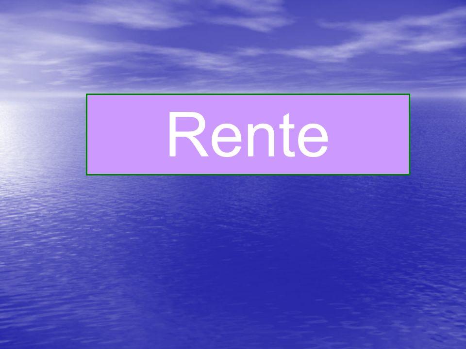 Rente pension