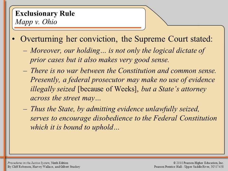 us exclusionary rule essay Explore the pros and cons of the debate the exclusionary rule in the united states.