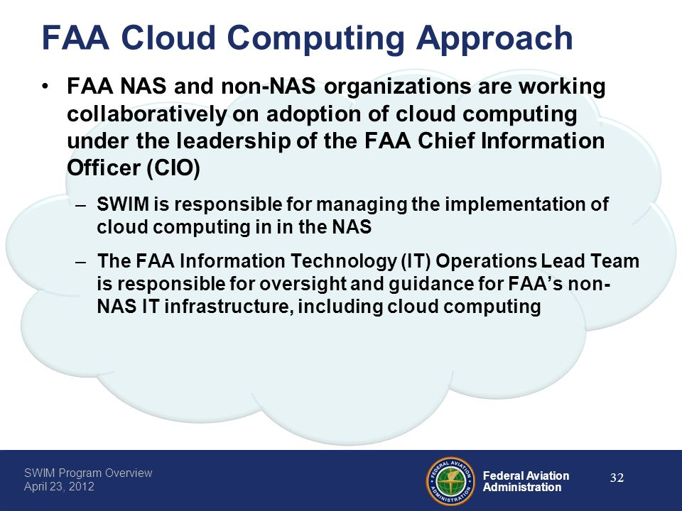 FAA Cloud Computing Approach