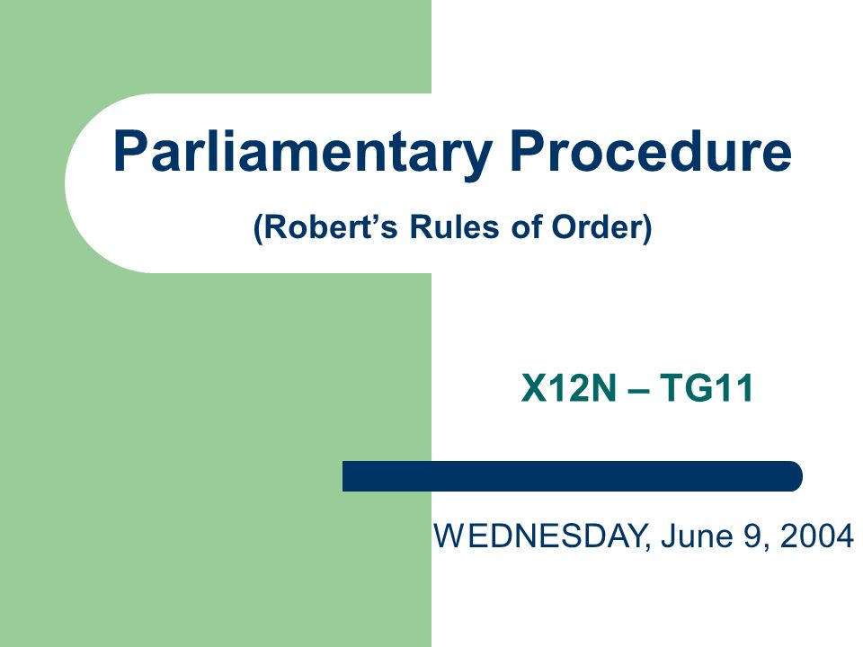 a summary of parliamentary procedure 1 abridged guidelines for parliamentary procedure taken from: keesey's modern parliamentary procedure prepared by: jeffrey e barnett, psyd.