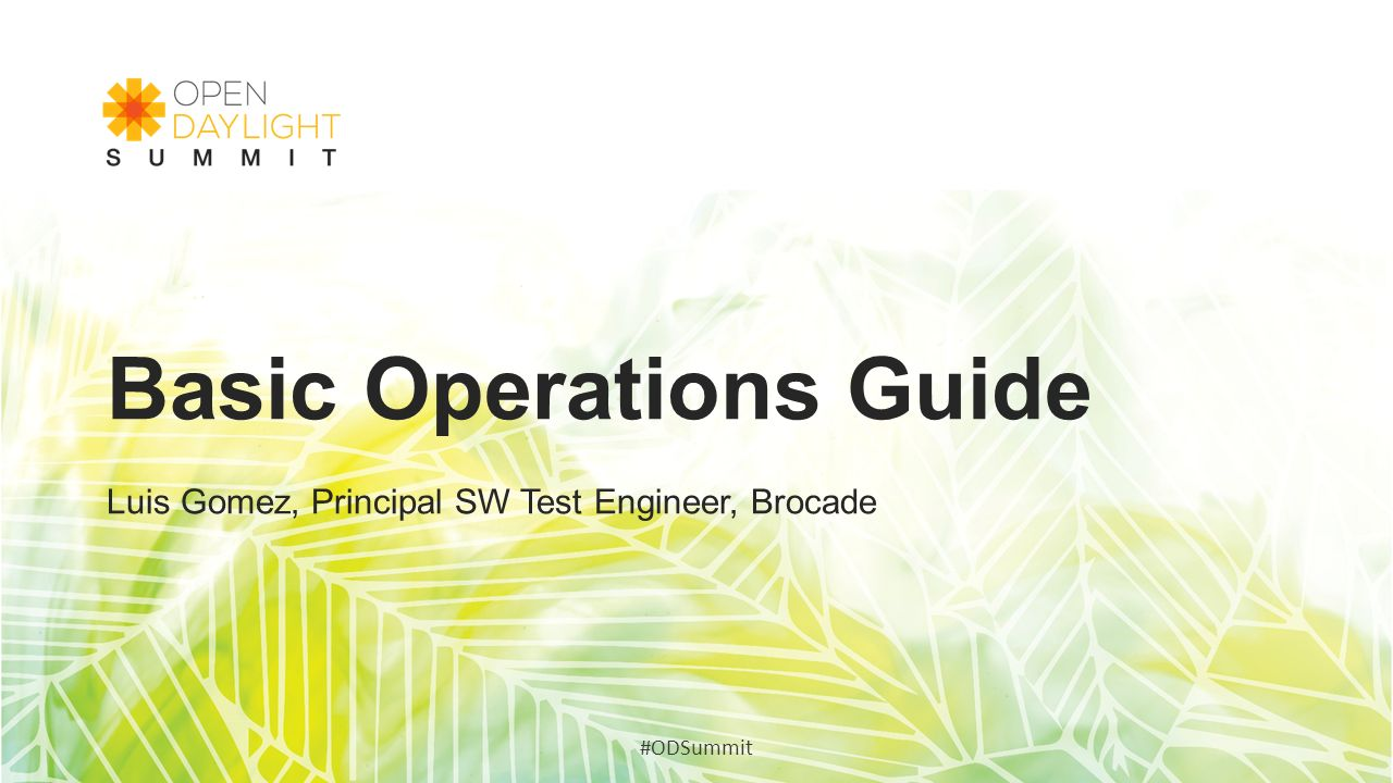 Basic Operations Guide
