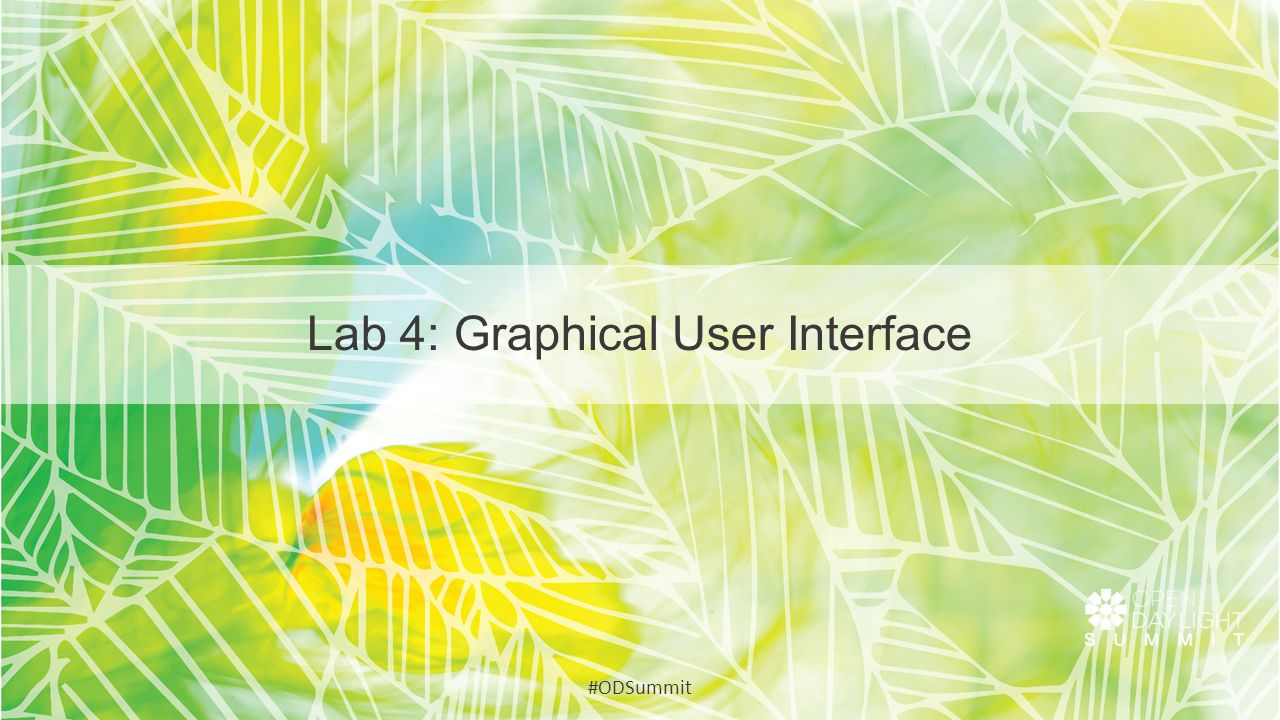 Lab 4: Graphical User Interface