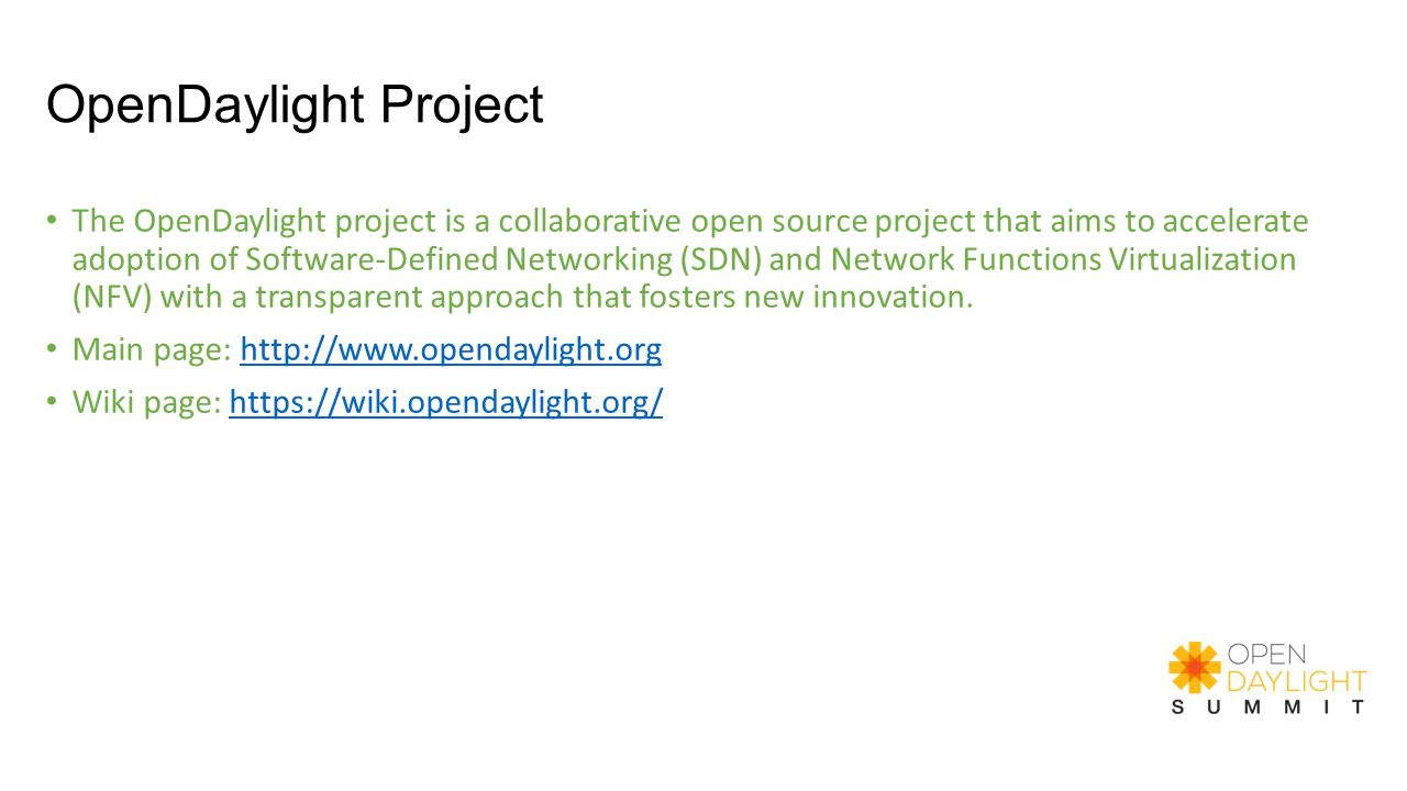 OpenDaylight Project