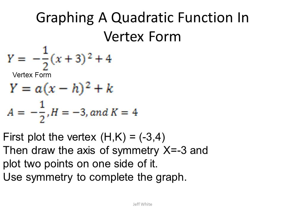 F X H F X H Calculus: 5.1 A Quadratic Function F Is A Function Of The Form F(x