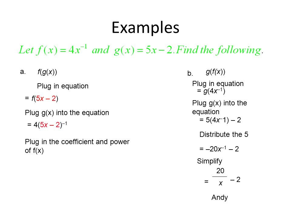 how to find the formula for f x