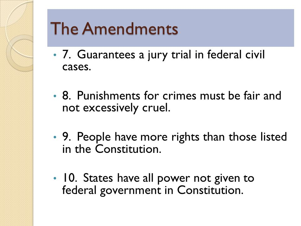 Constitution and Civil Rights - ppt download