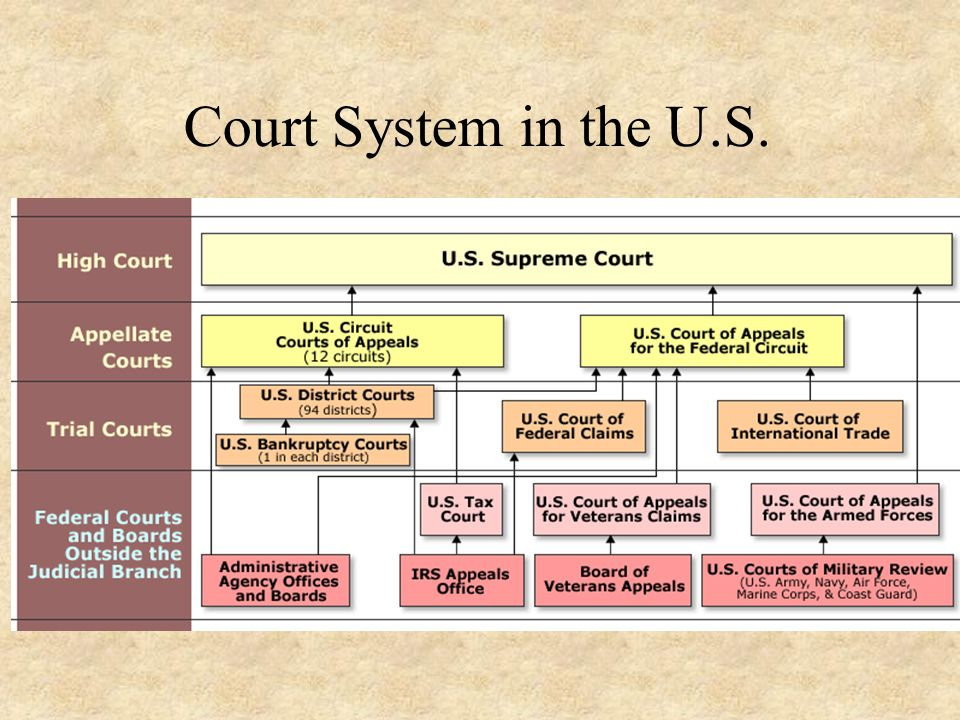 Court System in the U.S.