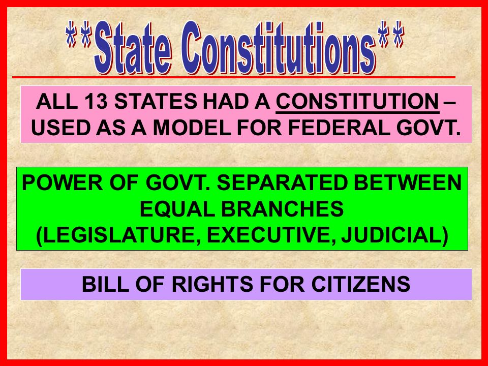 **State Constitutions**