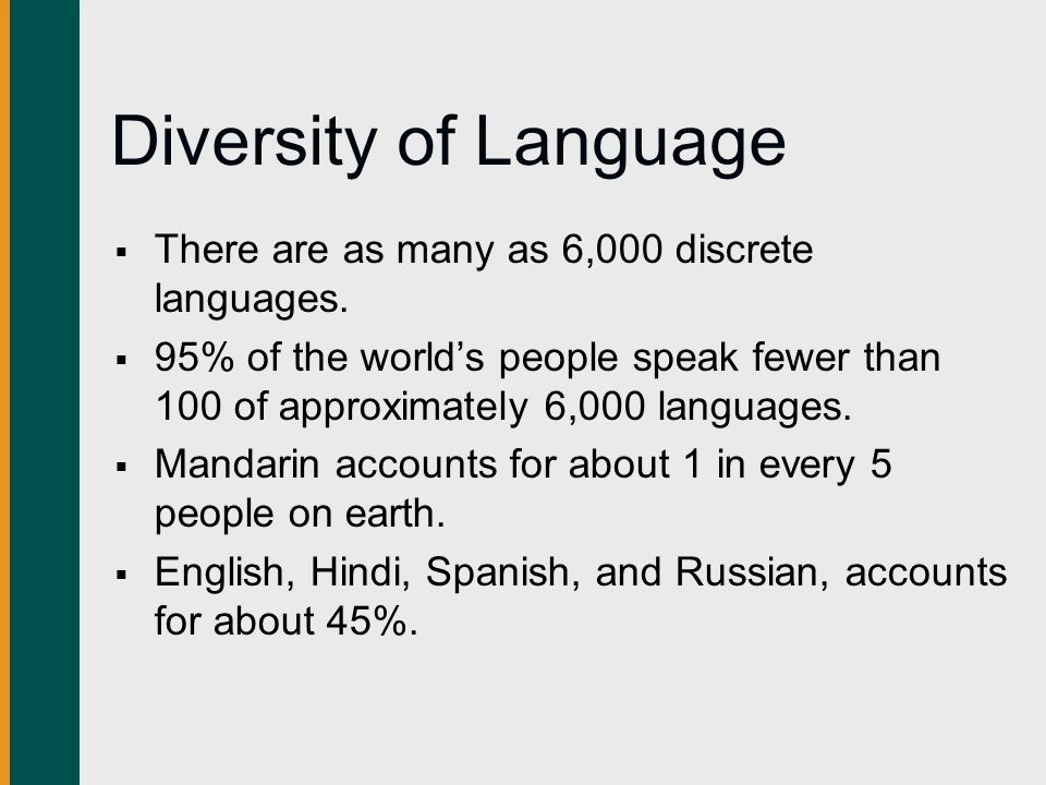 Are All Human Languages Symbolic In Nature