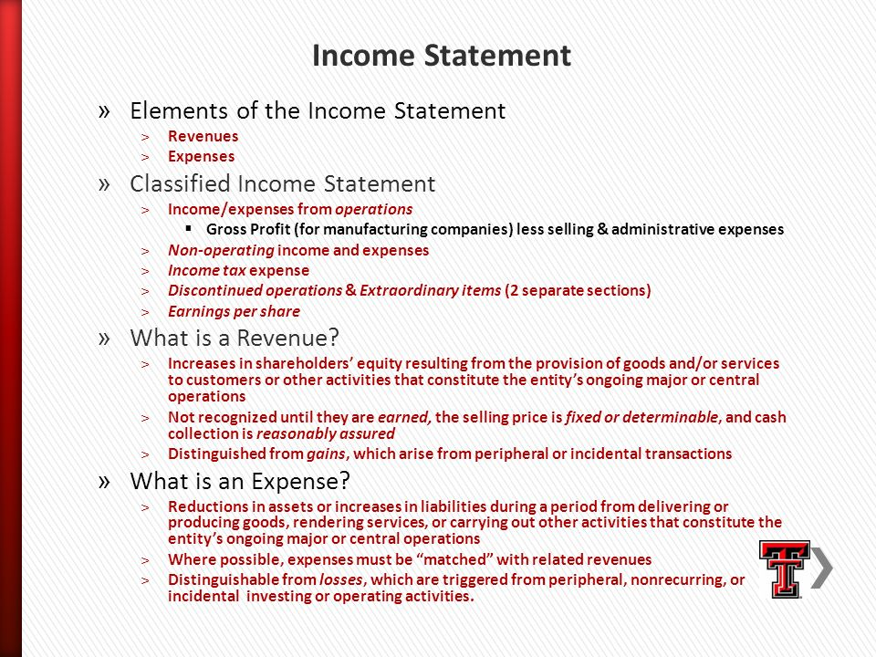 Part i financial accounting for executives ppt video for Ford motor company income statement