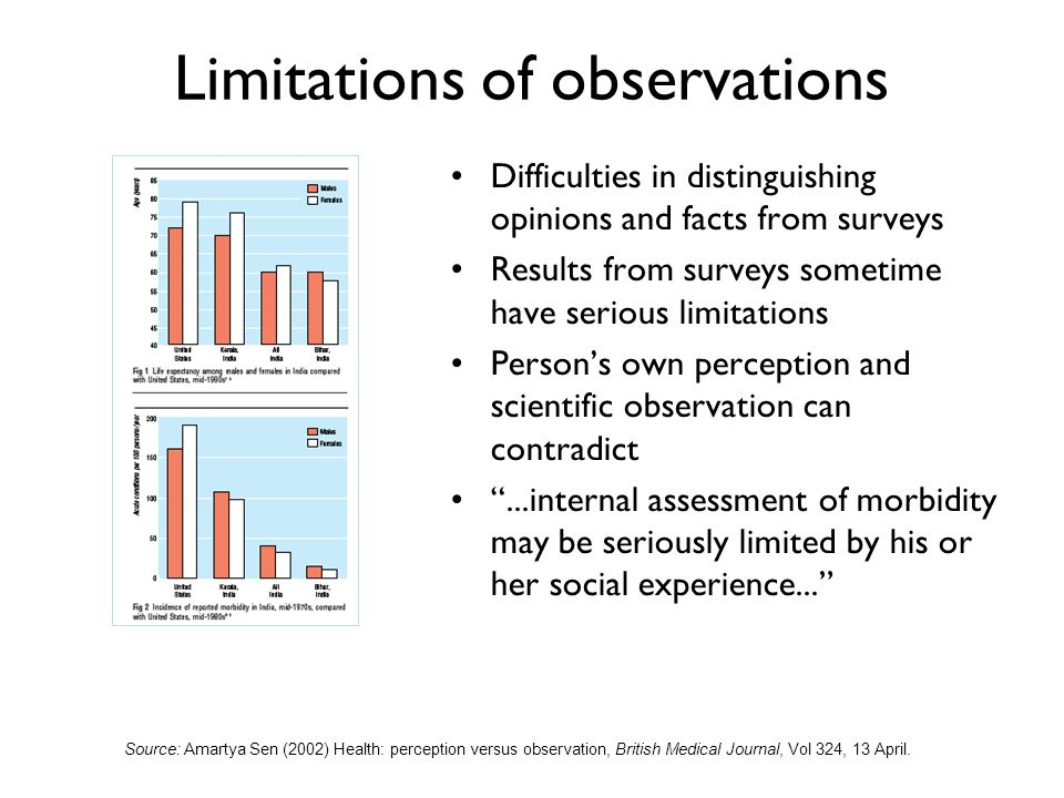 An analysis of observation and person involved
