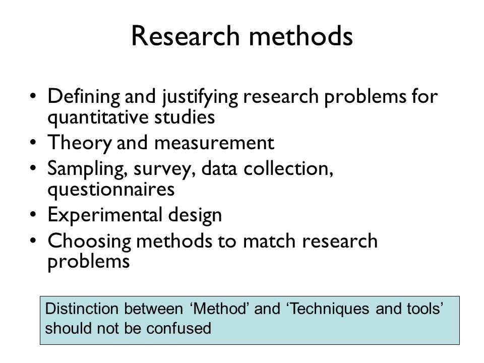 research methods defined