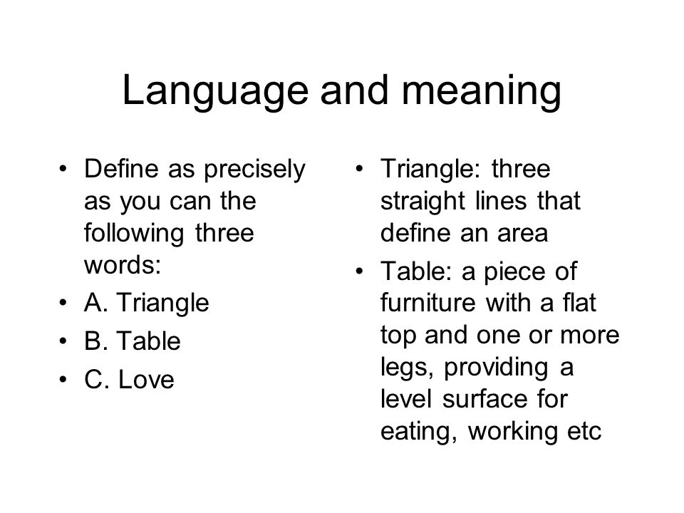 Language in tok language is english arabic chinese for Rule of three meaning
