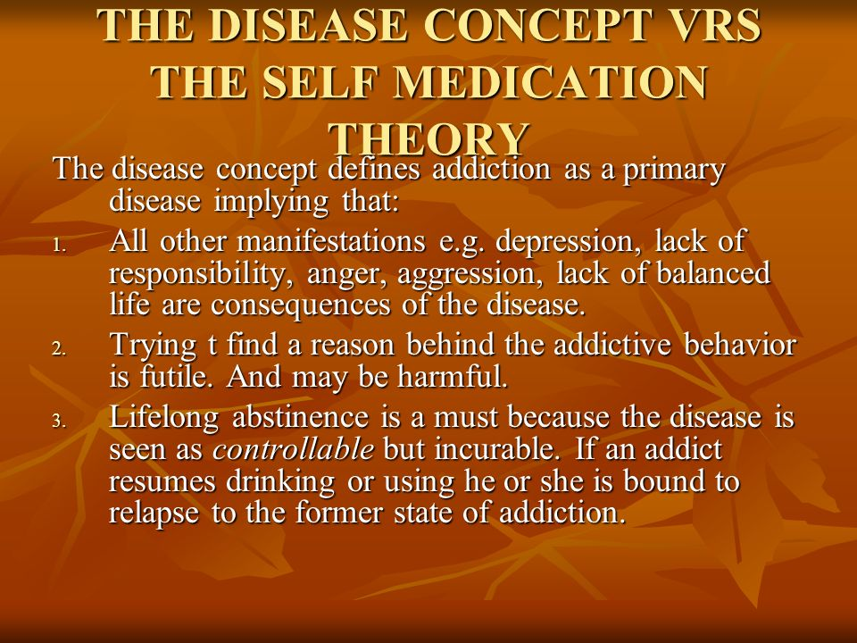 self medication hypothesis In fact, it has been psychological research on our early life experiences (lifespan development) from which the term self-medication hypothesis originated so, what are people trying to self-medicate.
