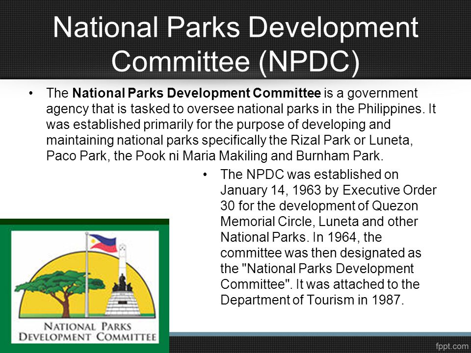 National Parks Development Committee (NPDC)