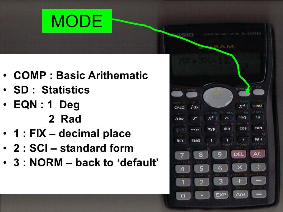 Using Scientific Calculator Ppt Video Online Download