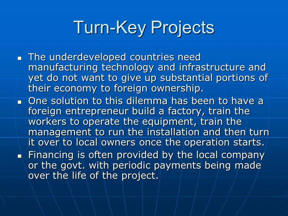 Turn-Key Projects