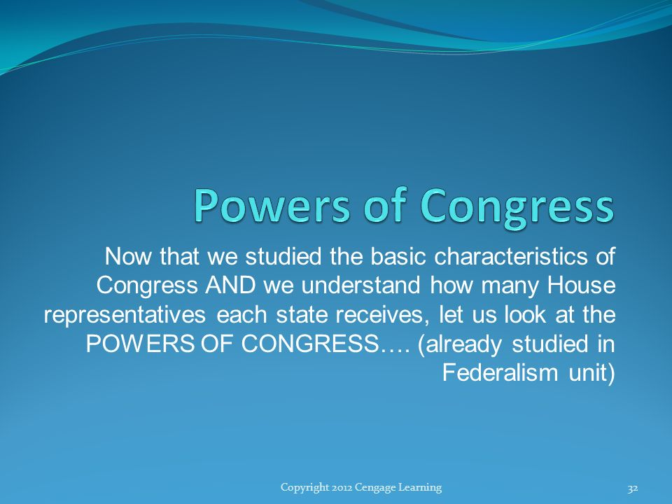 The Congress Ppt Download