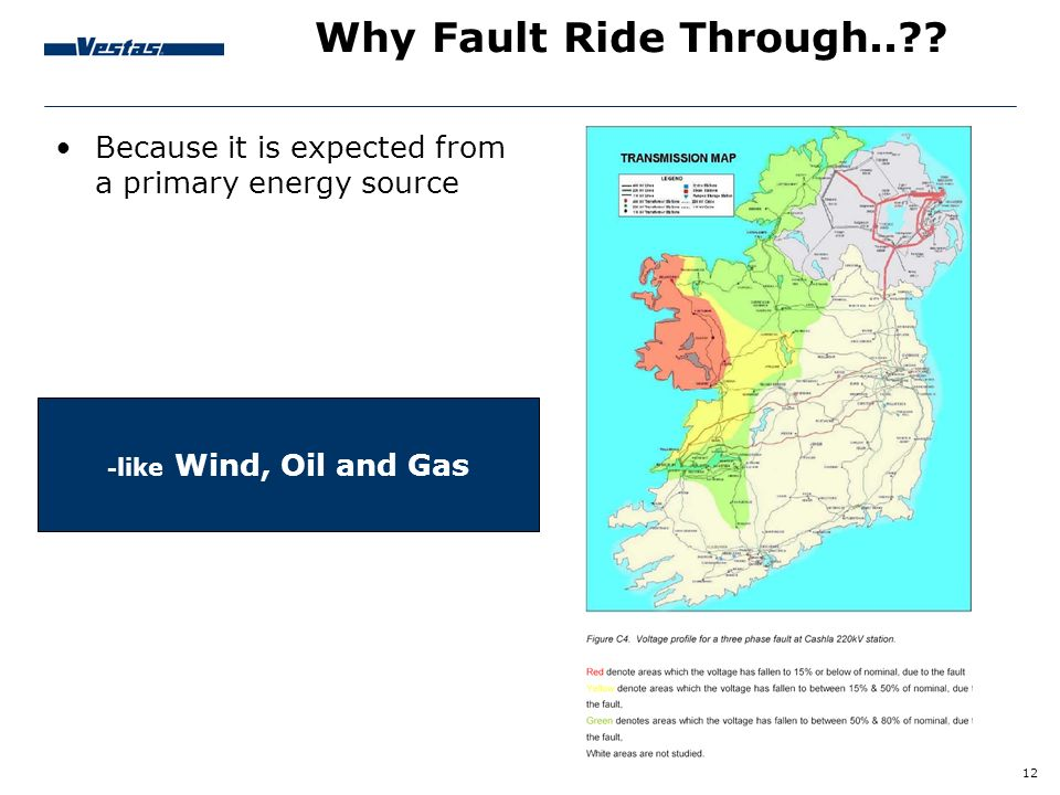 Why Fault Ride Through.. . Because it is expected from a primary energy source.
