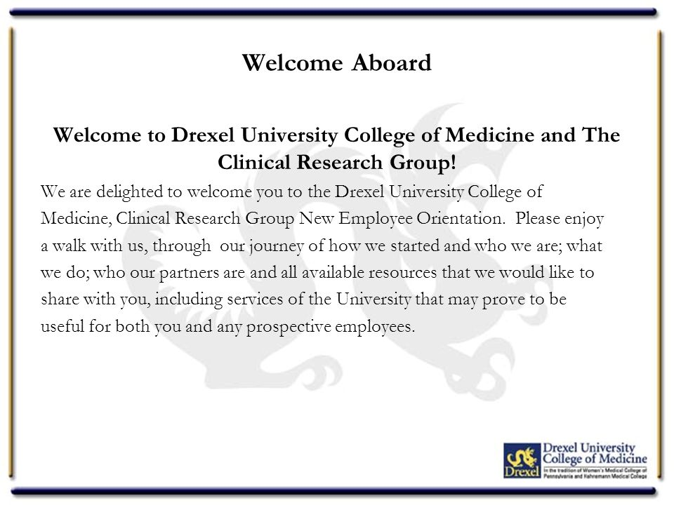 Secondary Essay Prompts for the Drexel University College of Medicine