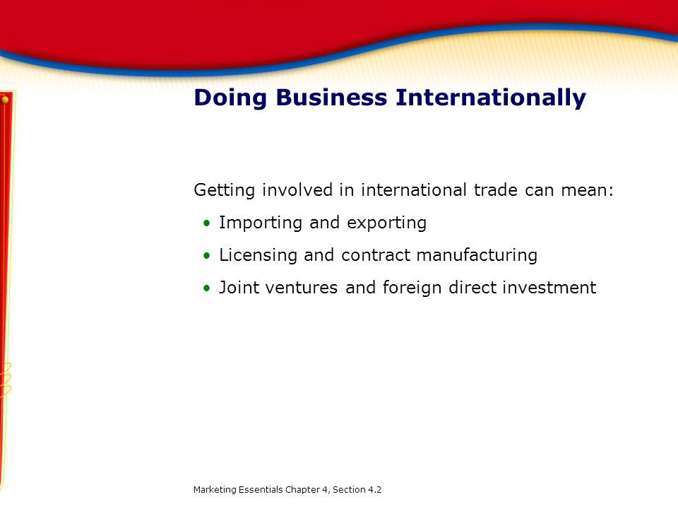 Doing Business Internationally