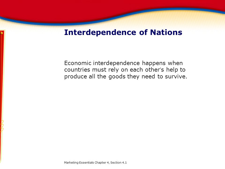 Interdependence of Nations