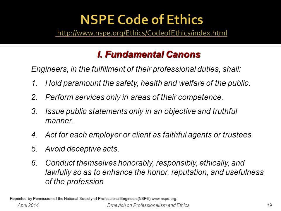 professionalism  ethics   practice  professional engineering