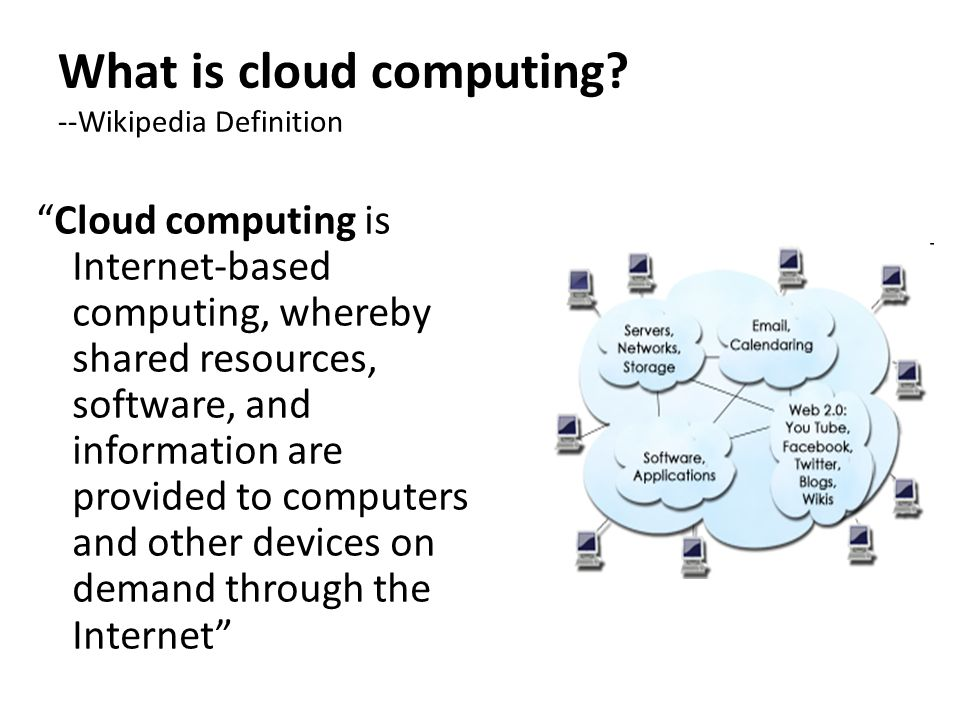 what is your definition of cloud In telecommunications, a cloud is the unpredictable part of any network through   to provide me with relevant information as described in our privacy policy.