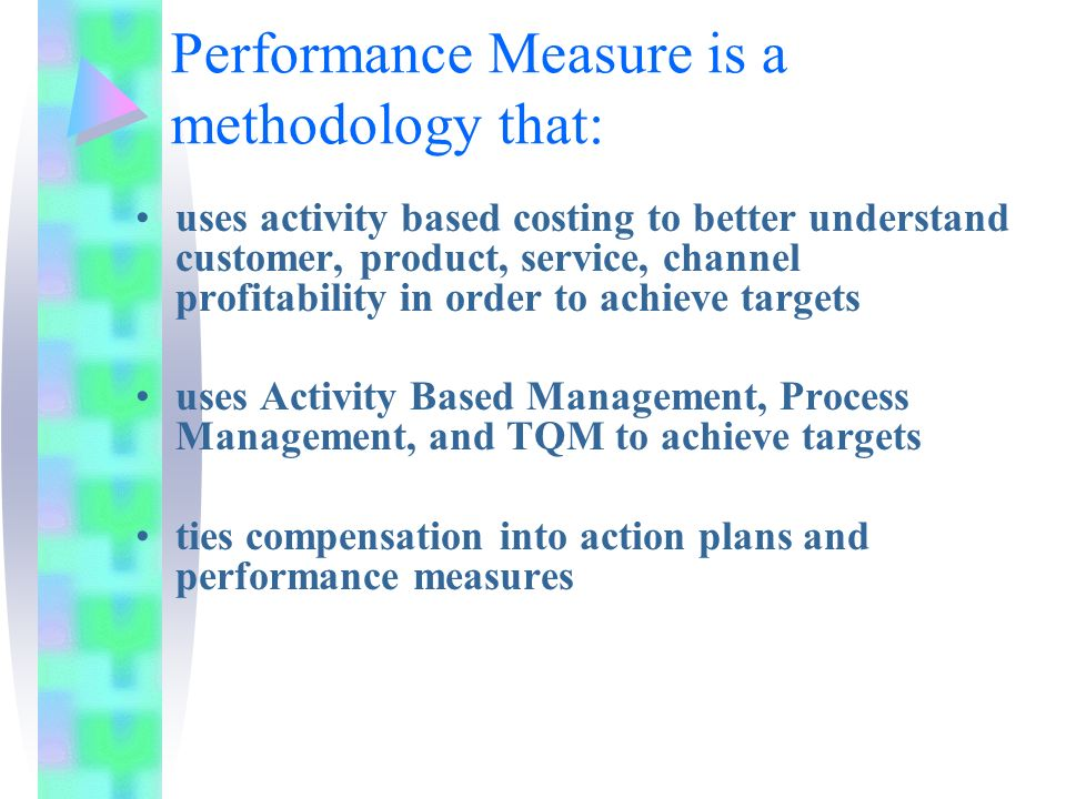 performance measurement and costing system in Determine profit margin based on an actual cost method measure the  organization's performance against historical costs include all direct costs of.