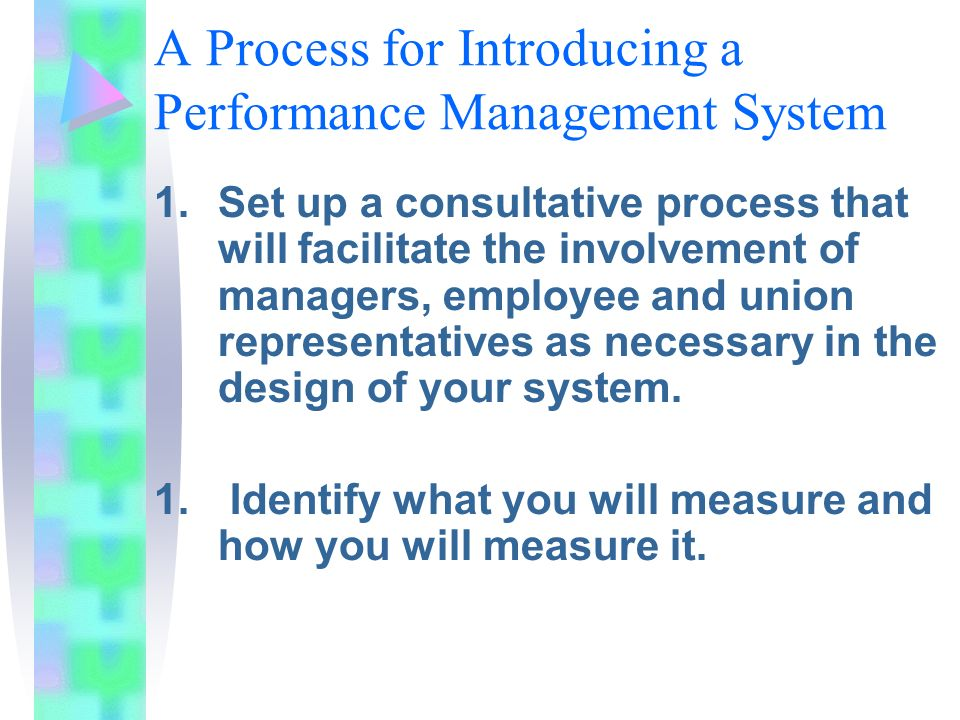 performance measures in operation management What is value-based management by timothy koller  can have targets and performance measures that are tailored to their particular circumstances but.