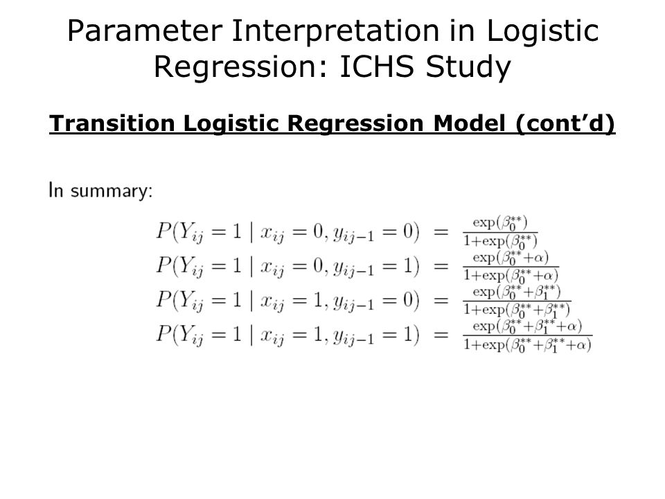 Concordant pairs logistic regression example in spss