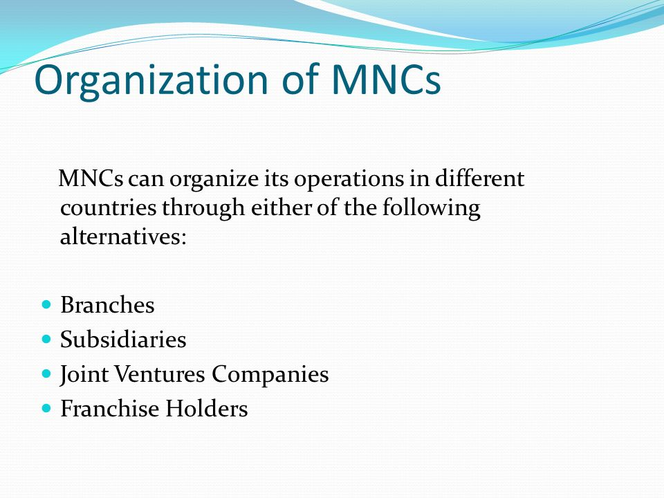 What are the Advantages and Disadvantages of Multinational Corporations?