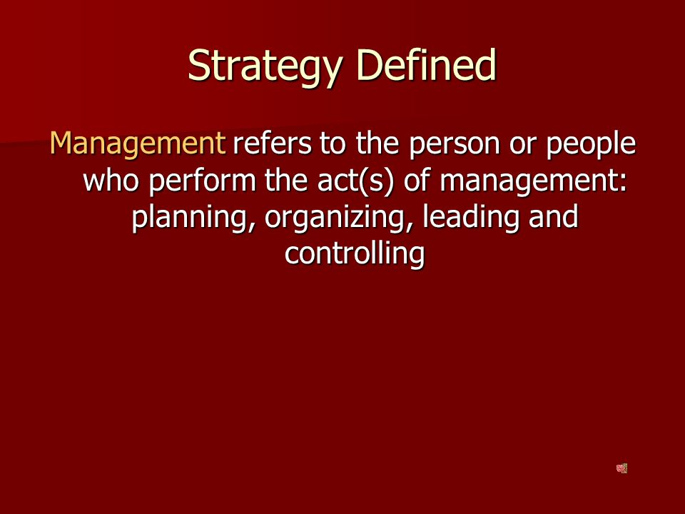 planning leading and controlling Planning is the first step in management and is essential as it facilitates control, valuable in decision making and in the avoidance of business ruin wyeth has a global vision to lead the way to better health.