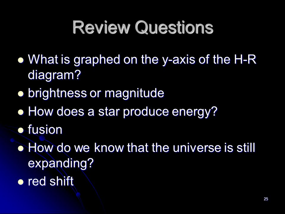 The universe chapter ppt video online download review questions what is graphed on the y axis of the h r diagram ccuart Images