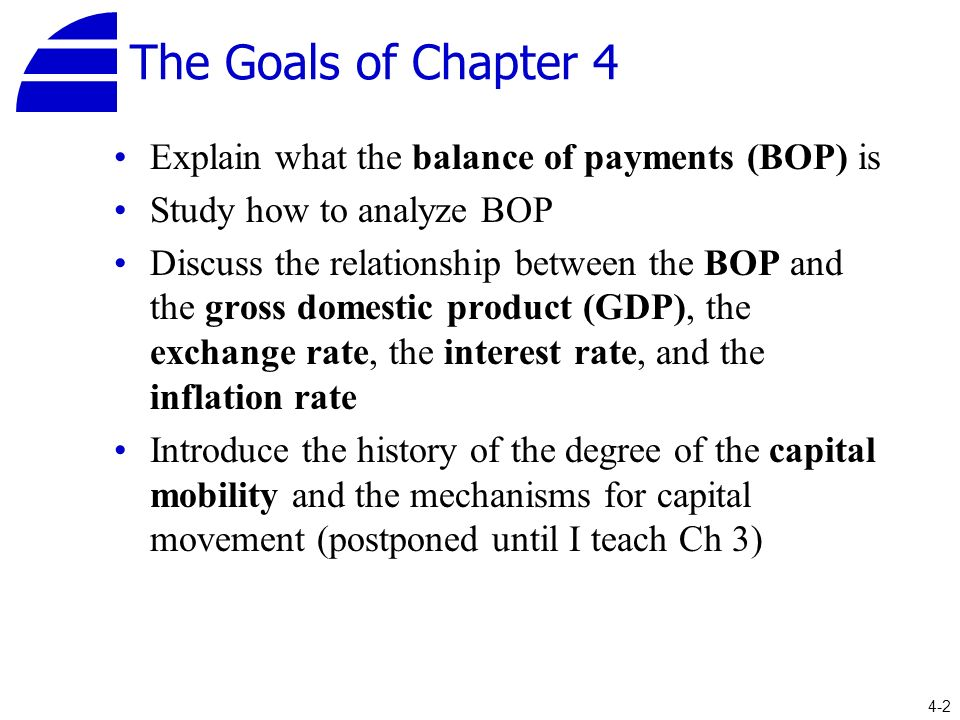 relationship between balance of payment and exchange rate