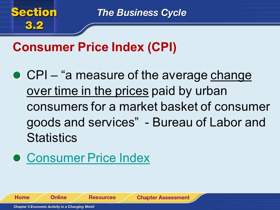 2 2 economic conditions change ppt video online download - Bureau of labor statistics consumer price index ...