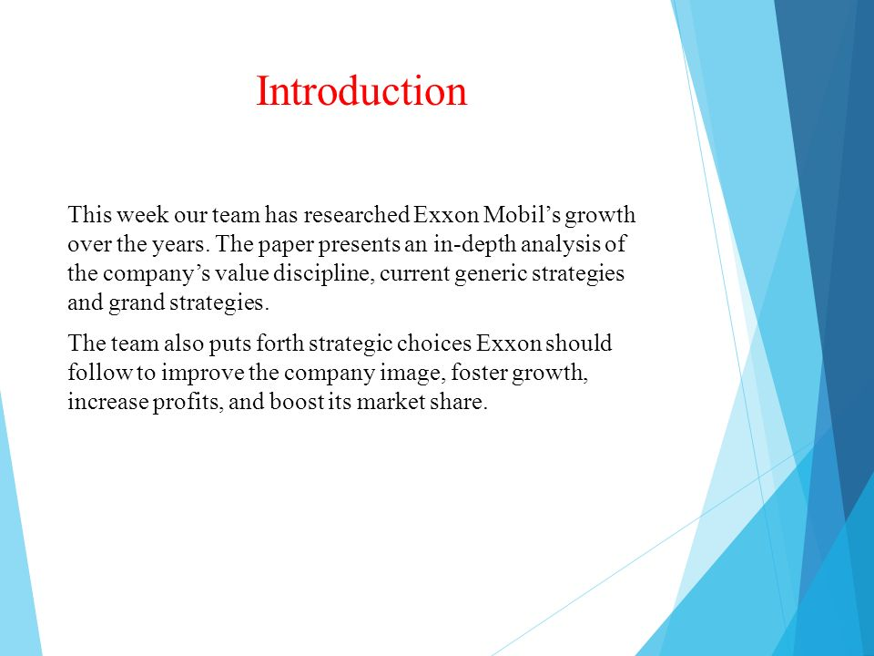 study on exxon mobil corporation management essay Integrated ethics essay - exxonmobil  the exxon mobil corporation is the world's largest publicly traded oil and gas company with operations on six continents .