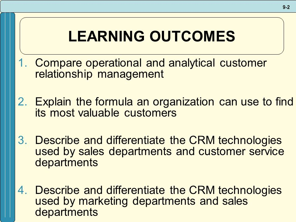 describe outcomes management and its relationship to fitness