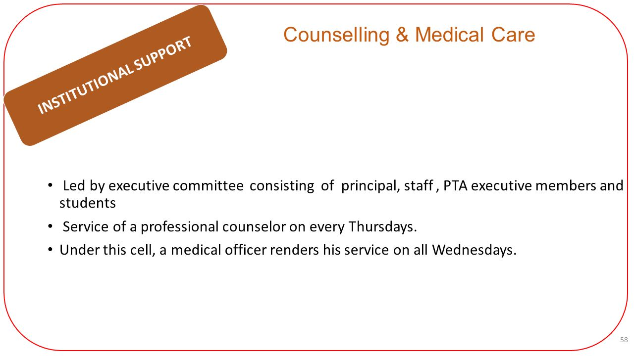 medical counselling committee