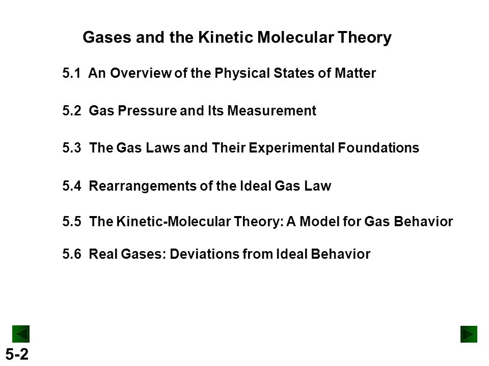 kinetic molecular theory The kinetic molecular theory of matter is a concept that basically states that atoms and molecules possess an energy of motion (kinetic energy) that we perceive as temperature.