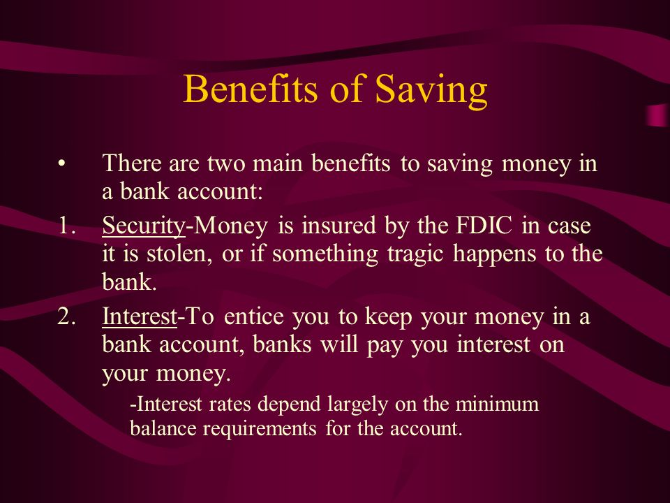 benefits of saving money Quotes about saving money can be a great source of inspiration to start earning and saving money here are some of stay a stay at home mom's favorite saving money quotes.