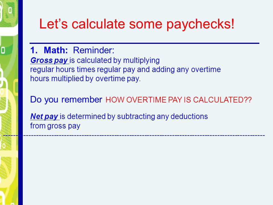 paycheck deduction calculator