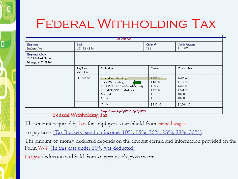 Let's calculate some paychecks! - ppt download